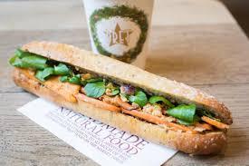 pret cuisine pret s menu s vegan baguette leaves food fans