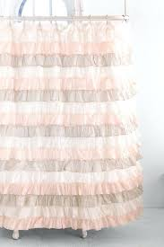 shower curtains ruffle shower curtain pink bathroom ideas gypsy