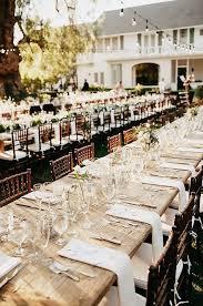 Vintage Backyard Wedding Ideas by Best 25 Farm Table Wedding Ideas On Pinterest Wedding Table