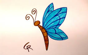 learn how to draw an easy cartoon butterfly icanhazdraw youtube