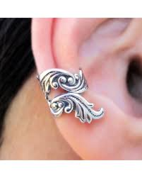 cuff ear get the deal feather ear cuffs no 2 sterling silver