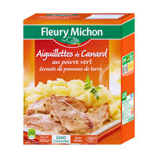 plats cuisinés riches en légumes viandes poissons fleury michon