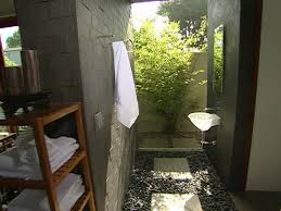 outdoor bathrooms ideas indoor outdoor bathroom hgtv
