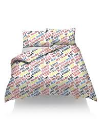 fancy duvet cover with pillow case printed quilt bedding sets