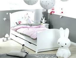 chambre fille et blanc lit avec tiroir couchage lit fille blanc top deco chambre fille vert