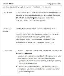 Best Corporate Resume Format Fox Of Business Resume Template 32 Best Resume Example