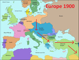 Map Of World War 1 by Iakovos Alhadeff A Brief Summary Of The First World War For Oil