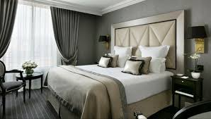 photo d une chambre chambre hôtel bord de mer méditérranée le majestic hôtels barrière