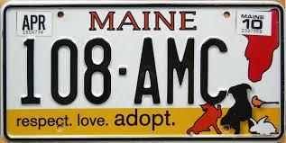 Vanity Plates Maine Maine 2 Y2k