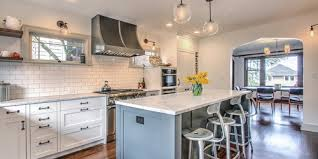 kitchen architecture design before and after seattle kitchen gets a bright makeover huffpost