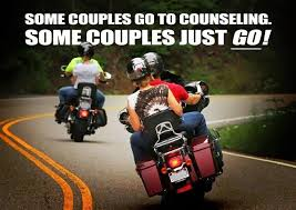 Biker Meme - biker meme some couples go to counseling some couples just go