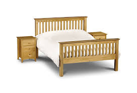 Barcelona Bedroom Furniture Julian Bowen Barcelona Bed With Low Foot End Antique Pine