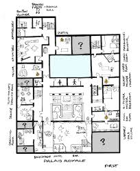 The Masque Of The Red Death Floor Plan | first floor plan masque of the red death