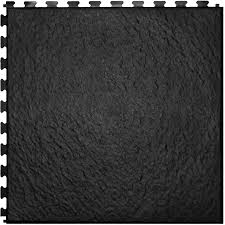 shop perfection floor tile 6 piece 20 in x 20 in black slate