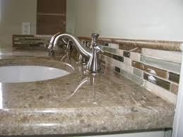 Glass Tile Bathroom Ideas by Bathroom Tile Backsplash Pinterest Glass Subway Height Navpa2016