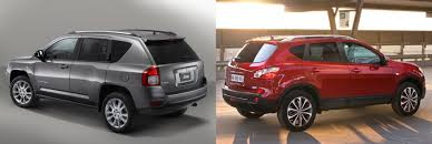 red nissan rogue jeep compass or nissan rogue qashqai fiat group u0027s world