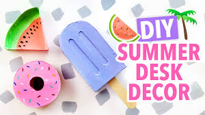 Diy Desk Decor Diy Summer Desk Decor Hgtv