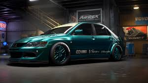 evo mitsubishi custom need for speed payback build of the week 4 u2013 mitsubishi lancer