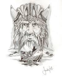 viking tattoos fashion news viking head tattoo drawings