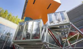 modular housing inhabitat green design innovation plugin tower is a low cost modular home with no foundation