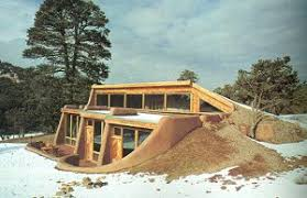 heating cooling berm underground houses book 1978