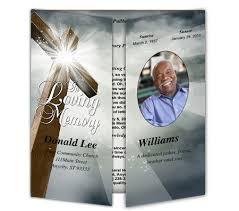 214 best creative memorials with funeral program templates images