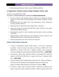 clinical research assistant cover letter cover letter