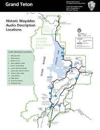 audio descriptions grand teton national park u s national park