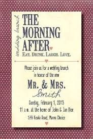 wedding brunch invitation post wedding brunch invitations brunch invitation wording as well
