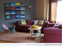 Maroon Living Room Furniture - colorful living rooms maroon carameloffers