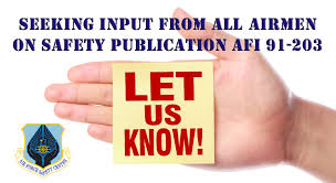 Seeking Font Airmen Invited To Comment On Safety Publication P Style Font