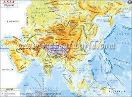 physical map of asia blank asia physical map physical map of asia