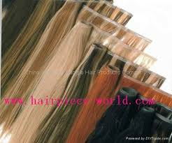 invisible hair skin weft pu weft seamless hair invisible hair extension made