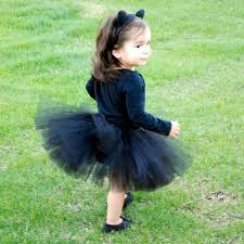 Black Cat Halloween Costume Kids Black Cat Tutu Costume Size Newborn 5t Por Cruzcreation En Etsy