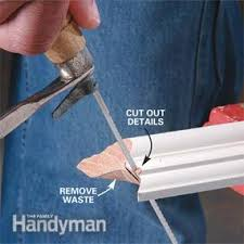 how to cut angles in front corners of hair how to cope joints family handyman