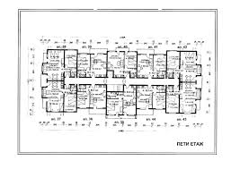 floor plans of elegant apartments in the luxury spa complex