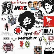 imagenes logos musicales logos vector bandas musicales rock vectorizados env gratis 45 00