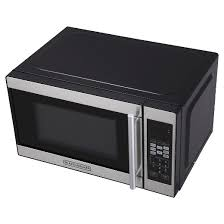 Black And Decker Spacemaker Toaster Oven Parts Black Decker 0 7cu Ft 700 Watt Microwave Oven Black Em720cpn