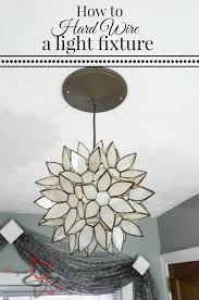 Light Fixture Wire How To Wire A Light Fixture Designed Decor