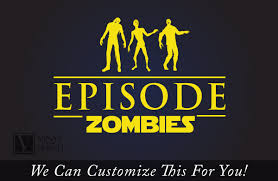 episode zombies 3 undead zombie silhouette bodies a wall or window
