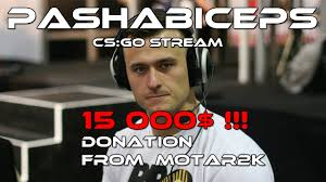 Donation Meme - pasha biceps 15 000 donation by motar2k full reaction youtube