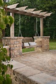 Swing Arbor Plans 300 Best Diy Outdoor Structures Images On Pinterest Backyard