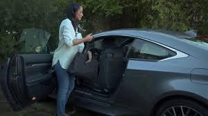 lexus lc backseat lexus rc rear seat access youtube