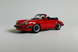 porsche 911sc cabriolet 1983 1 43 scale diecast model car
