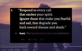 rumi quote be silent only the hand of god can remo quote