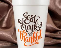 thanksgiving cups etsy