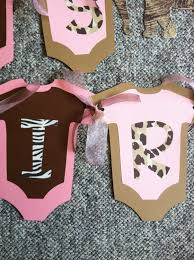 cheetah print baby shower favors images baby shower ideas