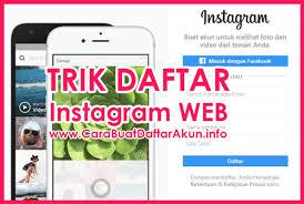 cara membuat instagram baru di komputer daftar instagram di web contoh buat akun ig lewat pc atau laptop