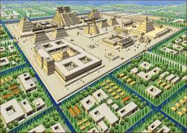 Tenochtitlan Map Pre Columbian History