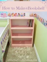 Bookshelf Wood Plans by How To Build A Bookshelf Adventures Of A Diy Mom